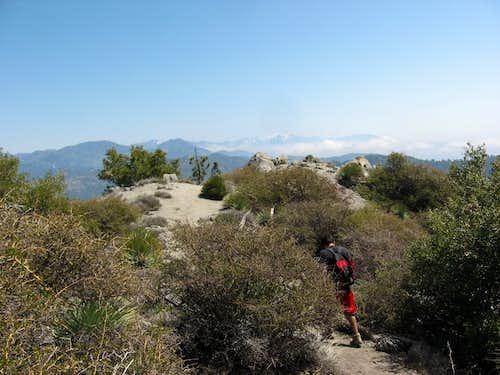 Atop Strawberry Peak..