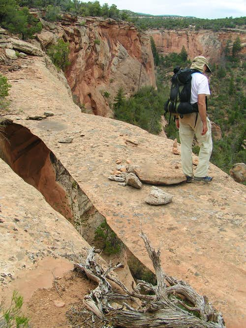 Side walk (Ribbon) Arch, Colorado National Monument