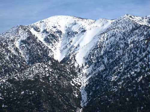 Mt. Baldy from Iron Mtn.