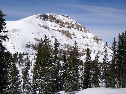 Bald Mountain in winter