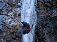 On Guideline Near Waterfall