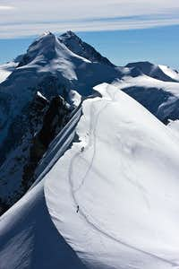 Breithorn summit ridge