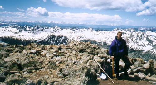 Summit view from Mount of the...