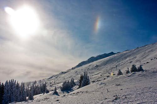 Vitosha mountain in Bulgaria