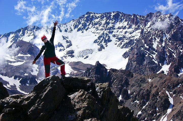 Cerro Stepanek - on the summit