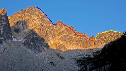 Sherpa Peak N. Ridge