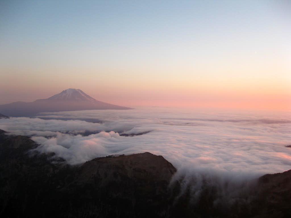 Adams viewed from Gilbert Peak