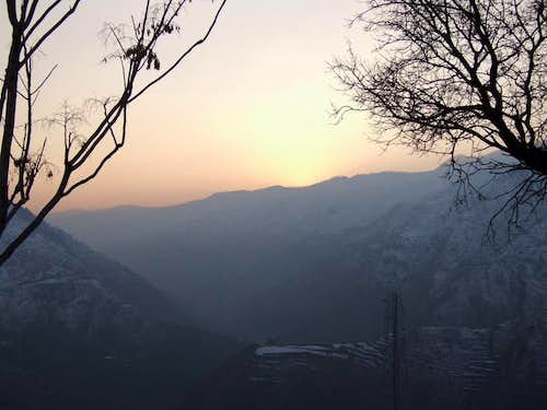 Sunset , Kaghan Valley