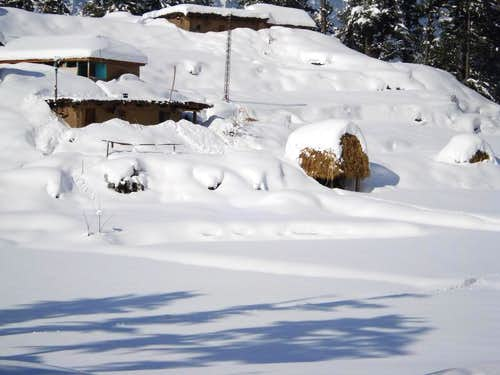Kaghan Valley during Winter Season