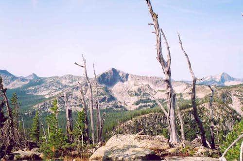 Peak 7,445 on Parker Ridge