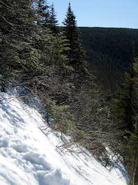 The Flume Slide Trail