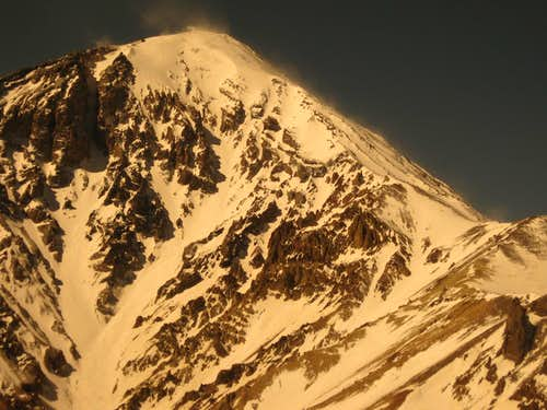 Damavand NE face