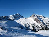 Mt. Albert Edward and Mt. Regan