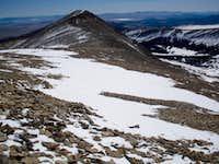 White Ridge from Sherman