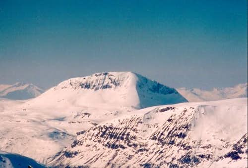 Tromsdalstind viewed from the...