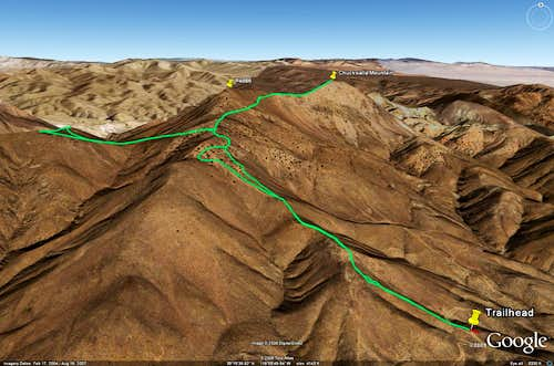 Cross and Chuckwalla - Google Earth Part 1