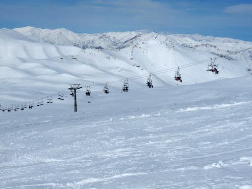 Tochal ski resort