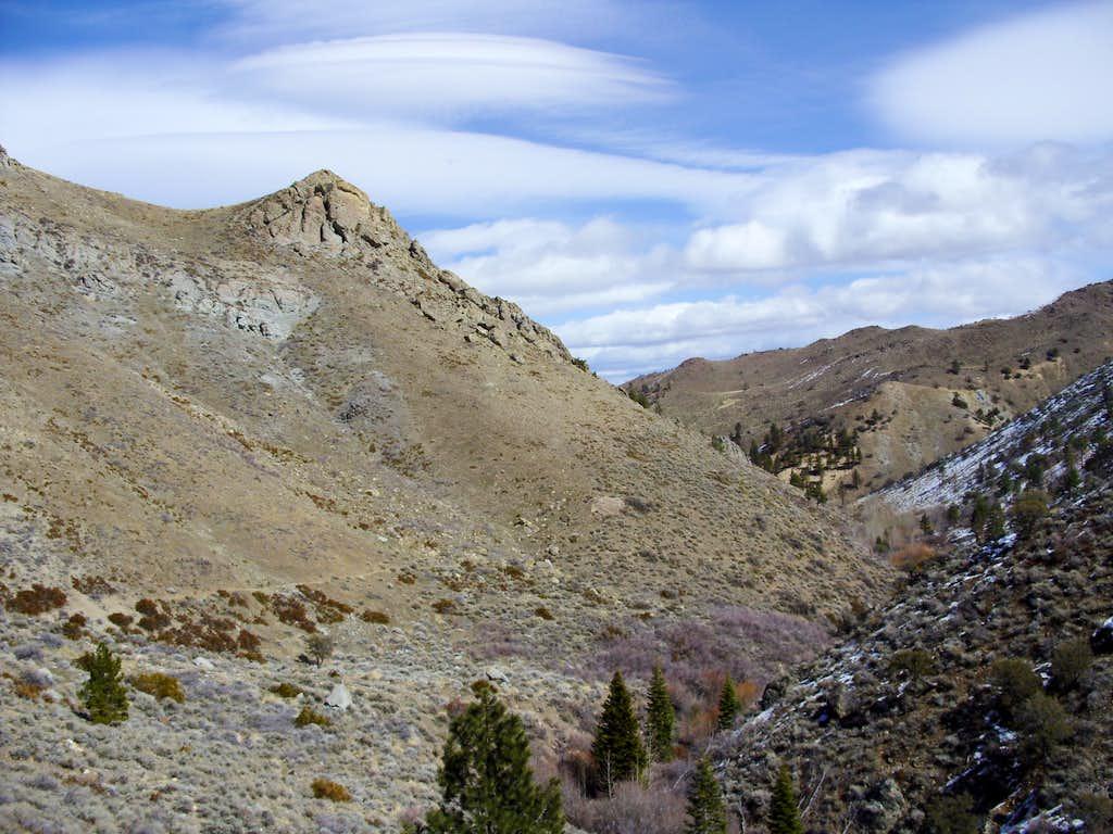 View back down the Hunter Creek Trail