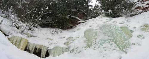 Hungarian Falls, February 2009