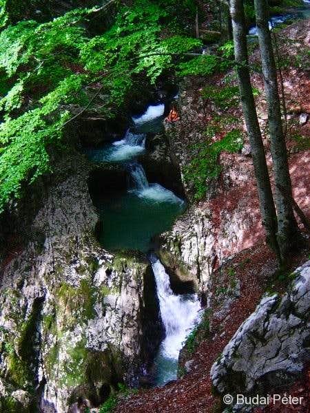 Waterfall cascade of Galbena