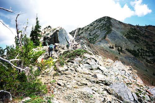 Ridge to Scatter Peaks