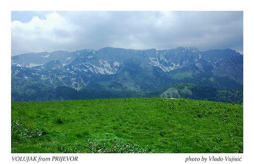 Volujak from Prijevor plateau