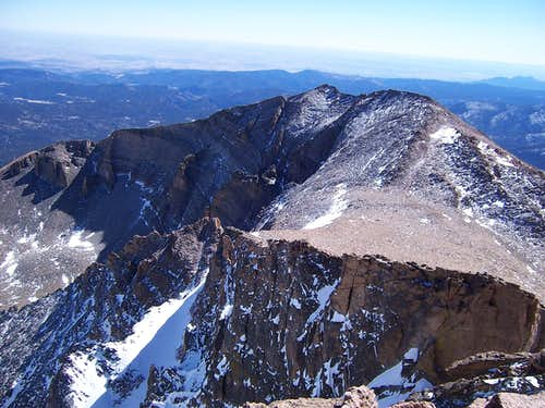 Mt. Meeker in March