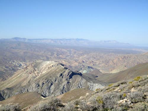 View from Chuckwalla Mountain