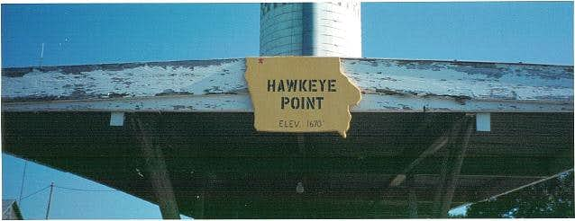 The highpoint sign