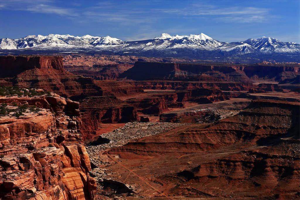 La Sal Mountains Viewpoint