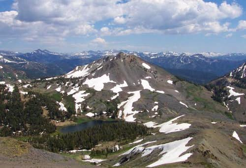 Hiram Peak as seen from...
