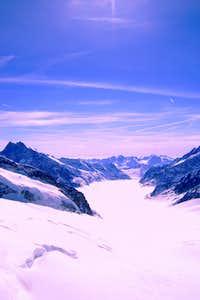 Aletschglacier, Swiss Alps