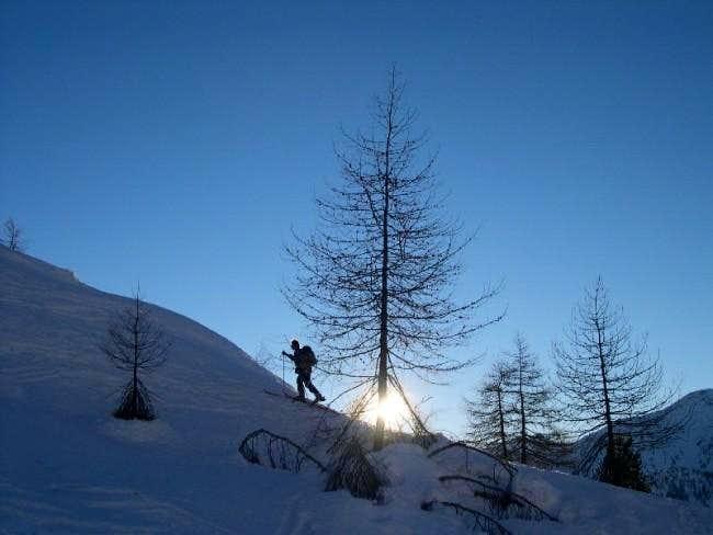 ski to Cima Piana