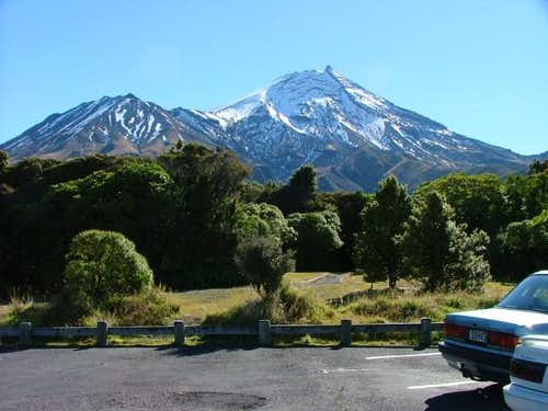 Mount Egmont From the Dawson...