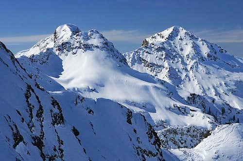 Triple Traverse: Dromedary Peak, Sunrise Peak, and Broads Fork Twin Peaks