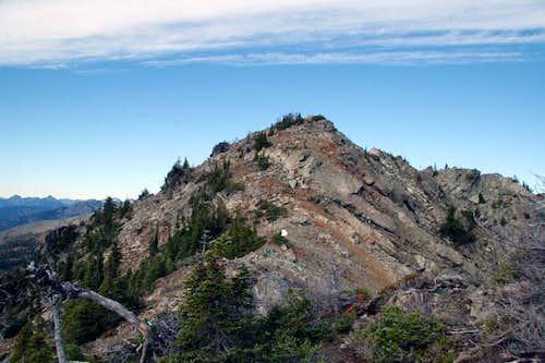 Esmeralda West Summit