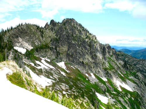 South Route - Chimney Peak