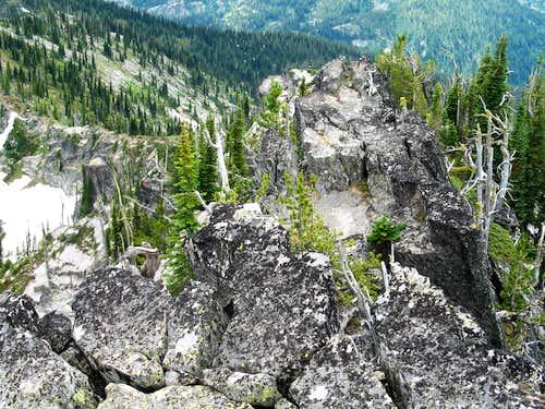 Crest of Chimney Peak