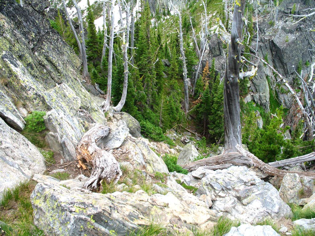 Second Ramp of Chimney Peak