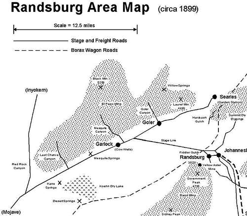 Randsburg Area Map