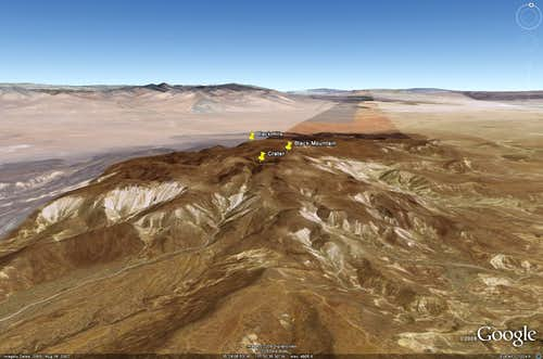 Black Mountain Google Earth Rendition
