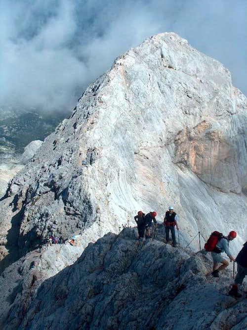 On the Triglav ridge