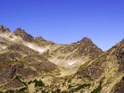 Velicky Stit above valley