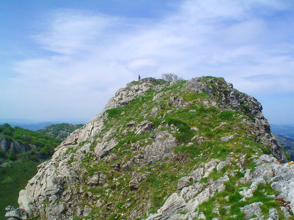 Summit of Mugarra