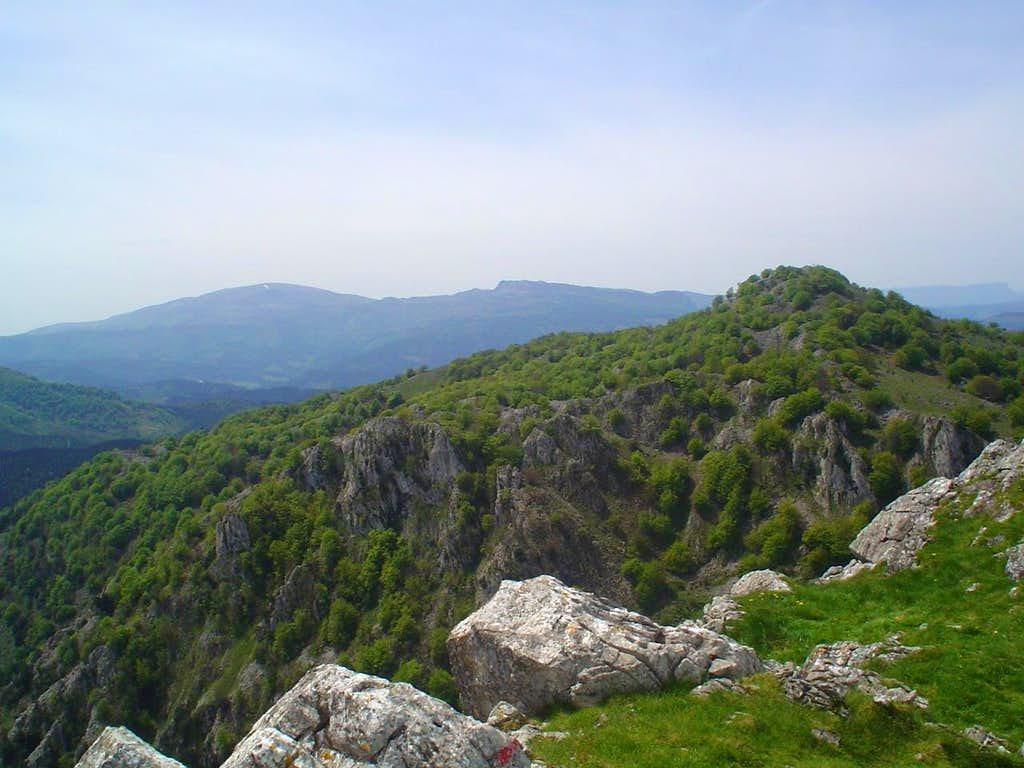 From the summit of Mugarra