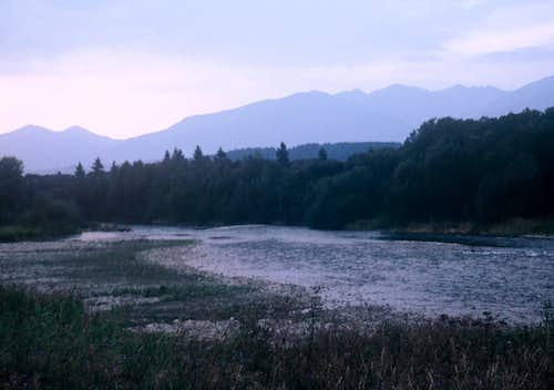 River Váh at Twilight