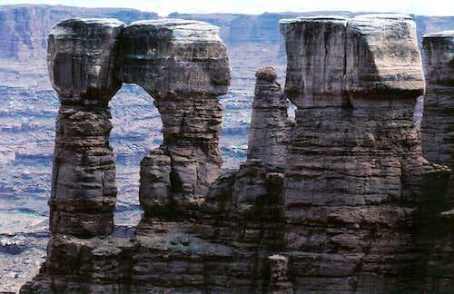 Monument Basin Pinnacles