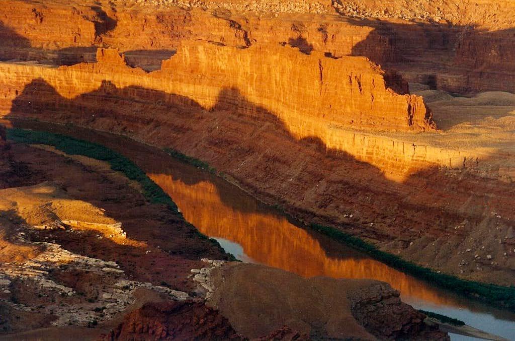 Colorado River and Canyonlands Dawn