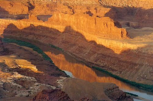 Colorado River and Canyonlands Dawn