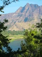 View on Cerro Cristalino near...